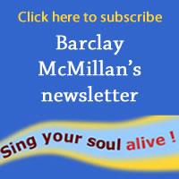 Sign up for Barclay McMillan's Ottawa voice newsletter